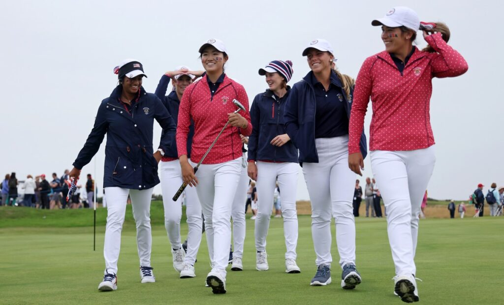 Curtis Cup 2021 R1 - GB&I make strong start in Wales