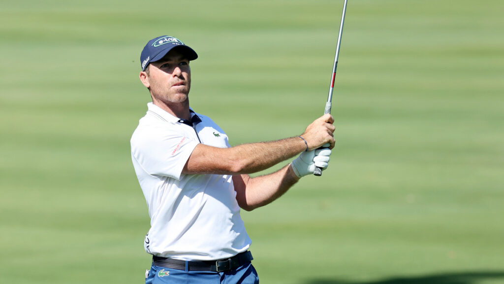 Andalucia Masters 2021 R1 - Julien Guerrier takes lead on windy day at Valderrama