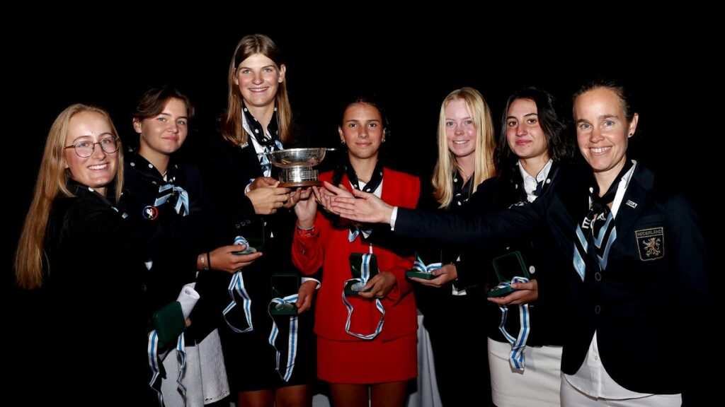 Continent of Europe win Junior Vagliano Trophy